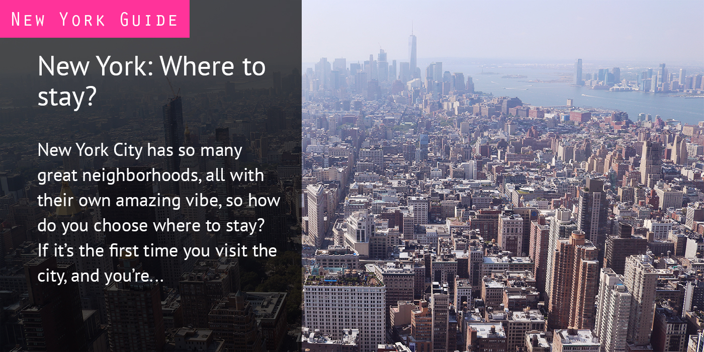 New York - Where to stay