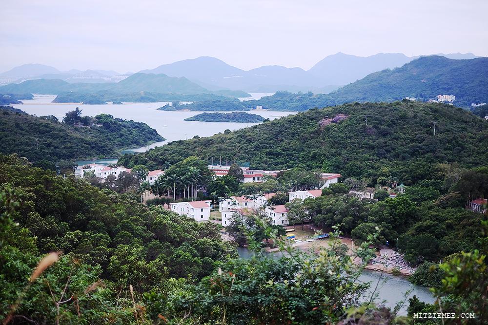 Hiking in Sai Kung East Country Park, Hong Kong