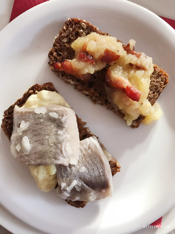 Pickled herring and apple pork, Julefrokost, the Danish Christmas Party
