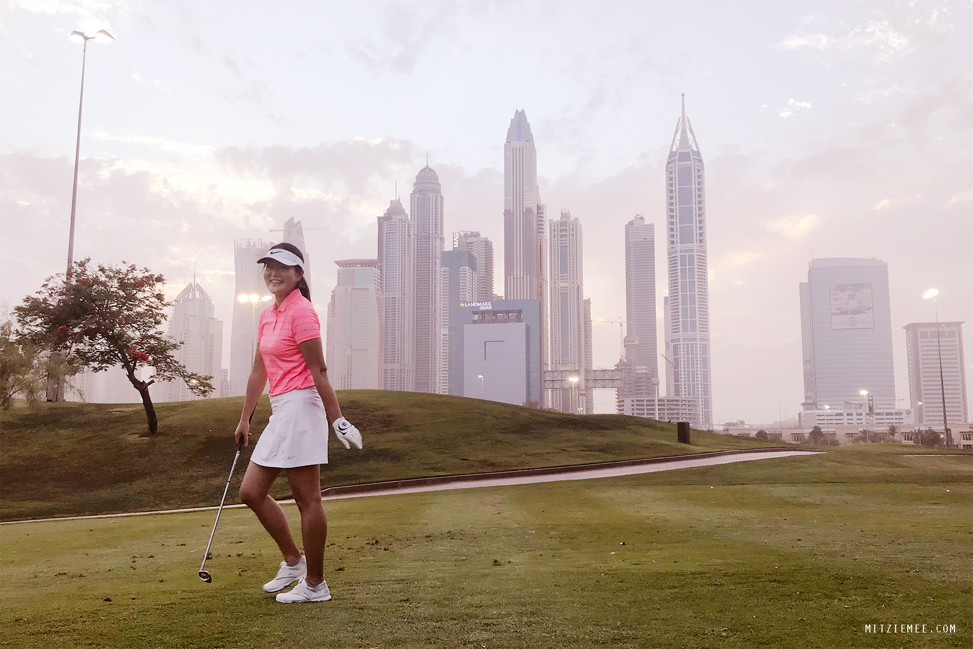 Sanne Møller, Emirates Golf Club, Dubai