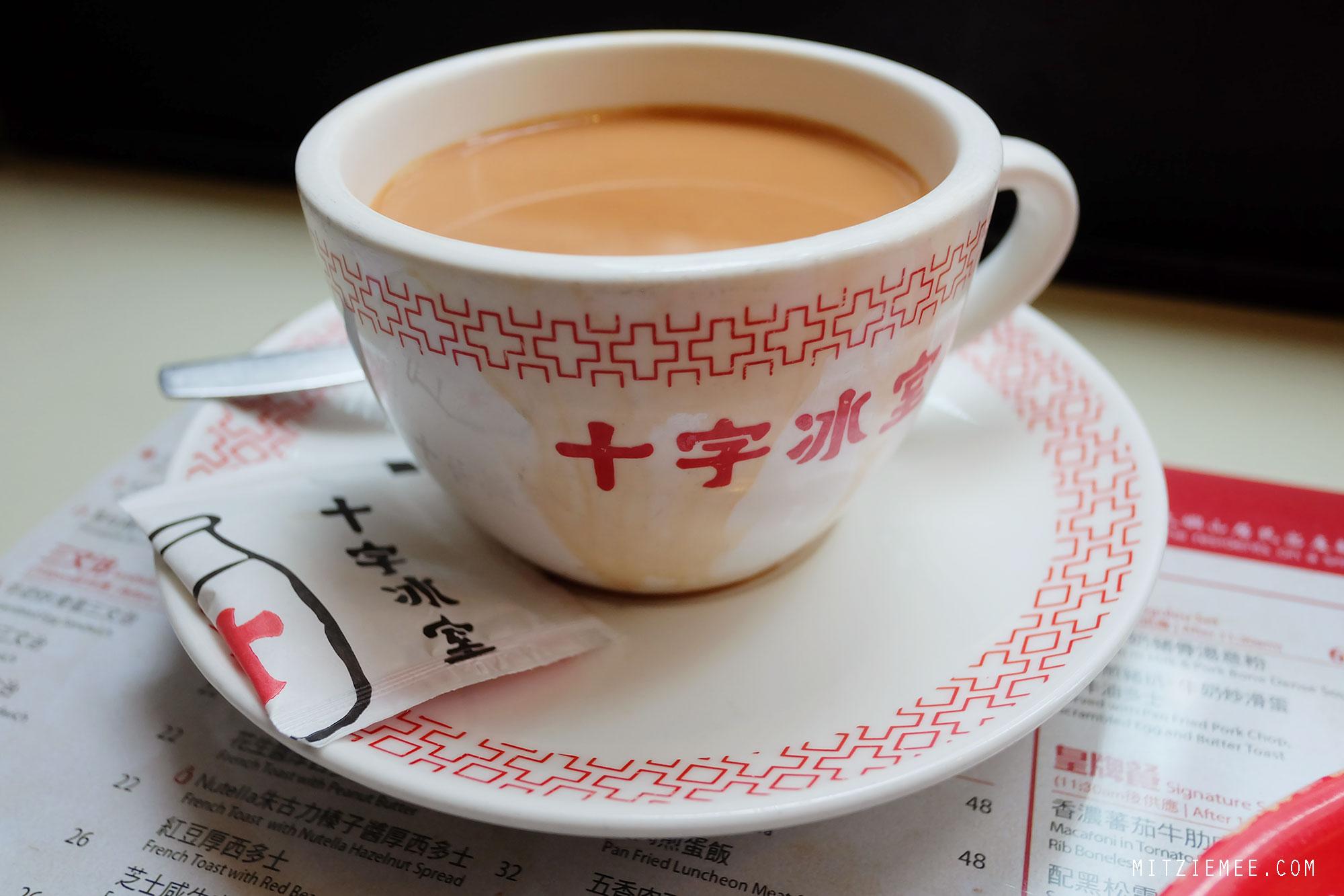 Morgenmad på Cross Cafe, Hong Kong